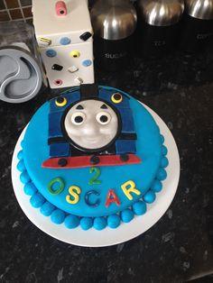 Thomas The Tank Birthday cake.:)