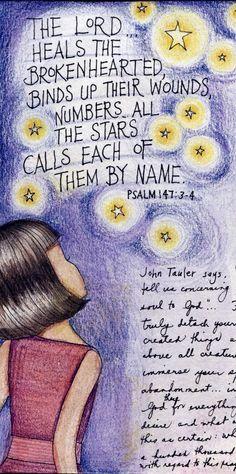 Psalm 147:3-4