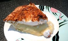 Coconut Cream Angel Pie from Food.com: From Taste of Home