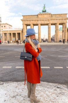 Streetstyle vor dem Brandenburger Tor