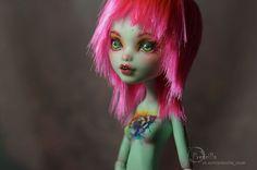Ooak Monster high , by  Prescilla custom doll repaint vk.com/prescilla_ooak