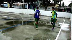 Quadra de esporte do parque ipê, Feira de Santana-Bahia.15-05-2016