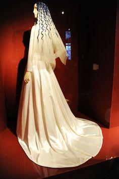 Elsa Schiaparelli beaded veil