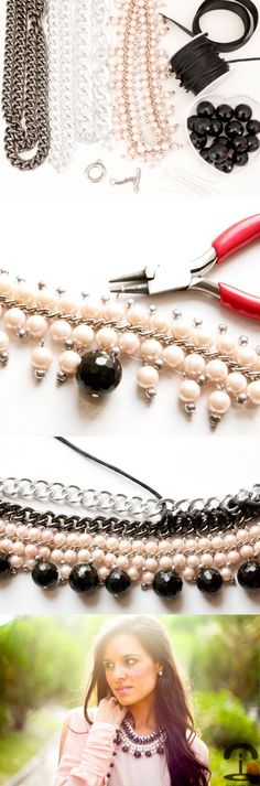 DIY: Chain bib necklace,Mini Bubble Necklace ,Bib Necklace, Bubble Necklace, Bib Necklace, Statement Necklace,Wedding Necklace. Shop the latest collection of bib necklace from the most popular stores Cost21.com
