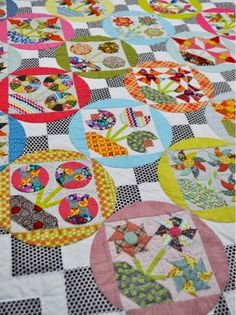 Jen Kingwell Designs: Around the World Blog Hop...I love every single thing about this quilt!