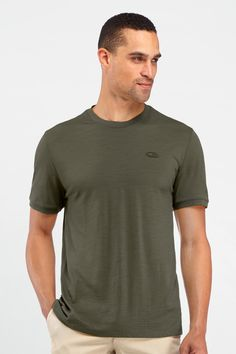 Tech T Lite Short Sleeve - Made from Morino Wool and the most comfortable T-Shirts from what I've been told.  At $65 it would be a tough failure if you didn't like the feel.