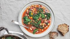 This hearty, easy-to-make soup has 2.5 servings of muscle-protecting, antioxidant-packed vegetables. Fix it ahead of time, take it to work, and heat it up for a midday meal that's more nutritious than a sandwich and more satisfying than a salad. Servings: 2, cooking time: 50 minutes