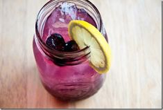 The recipe for Blueberry lemonade vodka
