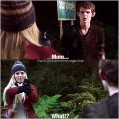 First Peter Pan is Rumple's father, then the son of Rumple is Henry's father, and now Peter Pan is Emma's son. This is one messed up family tree