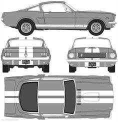 Ford Mustang Shelby Gt500 Capri Monster Trucks Planer Concept Cars
