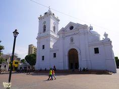 The cathedral of santa marta #Church #View #Old #Santamarta #Welovetravel #Adventures