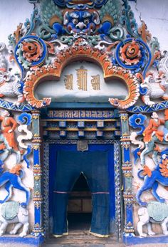 Gyantse, Tibet | Around the world in twenty doors: http://www.roughguides.com/article/door-to-the-world-20-inviting-entrances/