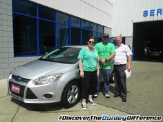 Thank you Thomas & Wendy M. for Discovering The Donley Difference at Donley Ford Lincoln of Mount Vernon! Your 2014 Ford Focus is sure to give you a nice ride.