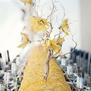 Yellow and Silver Wedding