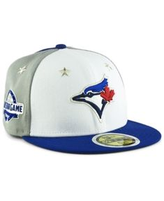 New Era Boys  Toronto Blue Jays All Star Game Patch 59FIFTY Fitted Cap 2018  - 5771c35520c