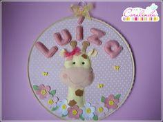 https://flic.kr/p/kgb2Xi   Girafinha para Luíza!   Uma encomenda feita com tanto amor e dedicação, que foi até difícil me despedir...rs Quadrinho bastidor para porta-maternidade e lembrancinhas de nascimento (ímãs de geladeira). Confira mais detalhes e fotinhos no blog: ateliercoralinda.blogspot.com.br/2014/02/um-mundo-cor-de-... Informações: ateliercoralinda@hotmail.com
