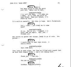 Skin Deep. Rumbelle Script 5/9