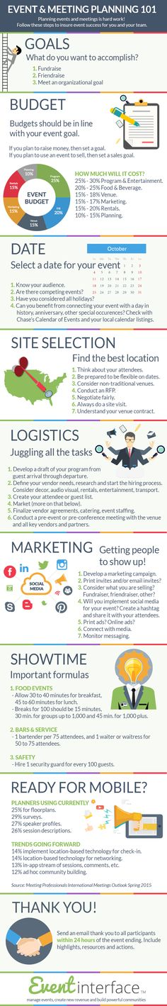 Event Planning infographic by Eventinterface. Planning events and meetings – Sıla Event Planning infographic by Eventinterface. Planning events and meetings Event Planning infographic by Eventinterface. Planning events and meetings – Planning School, Event Planning Tips, Event Planning Business, Party Planning, Event Ideas, The Plan, How To Plan, Conference Planning, Lunch Boxe