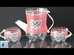 How to Make an Amazing Tea Pot and Cups from Cola Plastic Bottles - Art and Craft Ideas Recycled Bottle Crafts, Water Bottle Crafts, Plastic Bottle Flowers, Plastic Bottle Crafts, Recycle Plastic Bottles, Plastic Craft, Porta Cup Cakes, Plastic Tea Cups, Mug Art