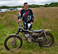 Suzuki b120 made in to a trials bike