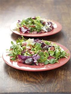 chestnut and pancetta salad - Christmas Side Dishes Pinterest