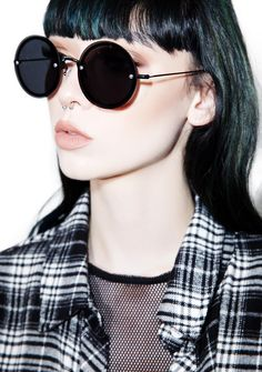 Daria Circle Sunglasses