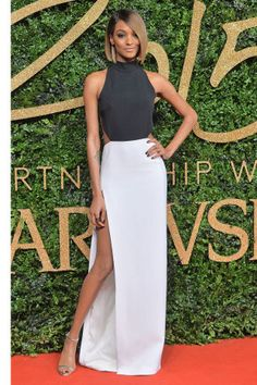 Jourdan Dunn at the 2015 British Fashion Awards. Stay tuned as we round up the best dressed on the red carpet: