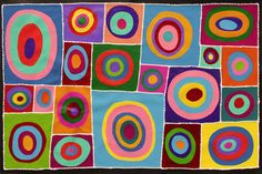 Aboriginal Artwork by Sally Clark. Sold through Coolabah Art on eBay. Cataogue ID 17156