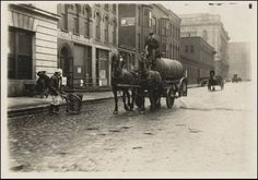 Cleveland Ohio: 1900's Beer Delivery