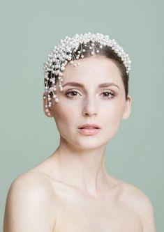 Wedding Headband, Wedding Hats, Wedding Veils, Hair Accessories For Women, Wedding Hair Accessories, Hair Jewelry, Bridal Jewelry, Pearl Jewelry, Headband Hairstyles