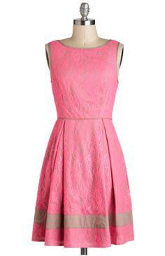 Cute pink color fabulous dress