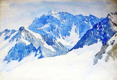 The Athenaeum - Monte Altissimo, Carrara (John Singer Sargent - ) 1910