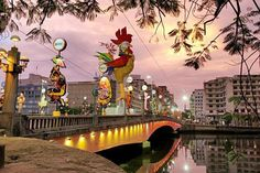 Carnaval em Recife - Pernambuco, Brasil.