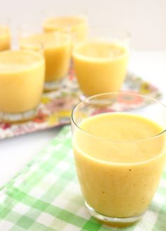 Citrus Smoothie by brighteyedbaker: Light, tangy and refreshing! #Smoothie #Citrus #brighteyedbaker