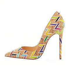 Simply gorgeous stiletto heels to match, perfect complement for a modern look. Wear or not? Click for more details.