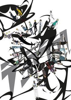 Tags: Fanart, Pixiv, Durarara!!, Orihara Izaya, Kida Masaomi, Sonohara Anri, Kishitani Shinra, Heiwajima Shizuo, Mikajima Saki, Orihara Mair...