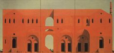 The Architect of Ruins  Paintings by Minoru Nomata  Title: Herbert Rosendorfer