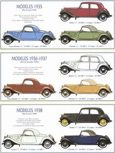 Presentation of the totally different Traction Our bodies Citroen Ds, Classic Sports Cars, Classic Cars, Citroen Concept, Art Deco Car, Automobile, Citroen Traction, Traction Avant, Car Prints