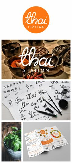 Thai Station by @MaduStudio #logo #design #branding