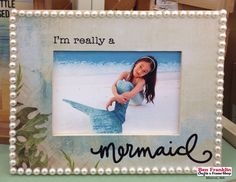 We offer a wide selection of innovative and affordable craft supplies. Mermaid Beach, Mermaid Diy, Frame Crafts, Diy Frame, Frame Display, Frame Shop, Mod Podge Crafts, Fun Crafts, Easy Projects