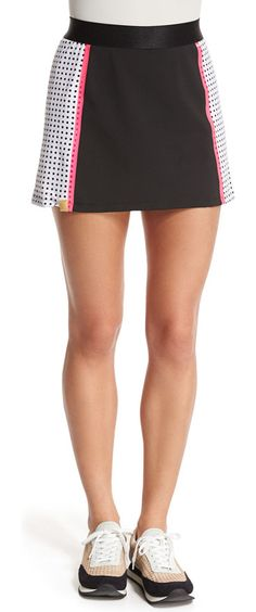 "On SALE at 56% OFF! Squad Perforated Jersey Skirt by Monreal London. Monreal London ""Squad"" jersey skirt in performance stretch. Banded waist. Perforated sides. Built-in shorts. Pull-on ..."