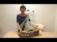 МК Паруса для корабля - YouTube Ship Craft, Chocolates, Paper Flowers, Origami, Cake, Desserts, Crafts, Youtube, Everyday Activities