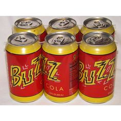2007 The Simpsons Movie Buzz Cola 6-Pack Unopened Cans Mint Listing in the…