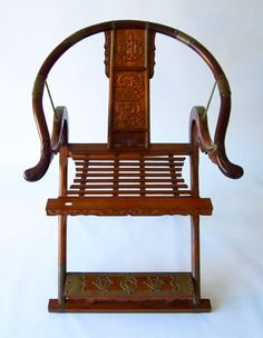 Chinese Ming Style folding Chair.