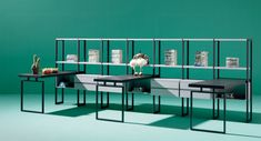 Shelving systems | Storage-Shelving | Composition 42 | LAGRAMA. Check it out on Architonic