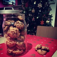 Cookies with dark chocolate and orange. Without eggs, only with whole wheat flour and brown sugar