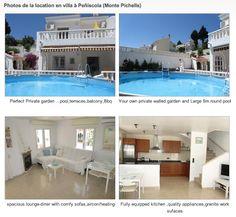 Magnifique villa avec piscine, qui est la troisième propriété à recevoir le plus de demandes de renseignements parmi les 6900 locations de vacances en Espagne annoncées sur VacancesEspagne.fr !!!  La villa est située à Peñiscola, dans la communauté Valencienne et elle possède 2 chambres (6 couchages), 100 m2 de surface habitable et une grande terrasse de 150 m2.