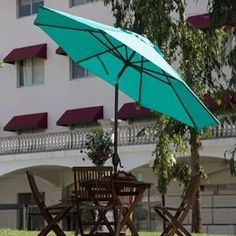 Best Patio Umbrella. 5 Market Umbrellas to Shade Your Outdoor Space | OutsideModern Patio Table Umbrella, Best Patio Umbrella, Offset Patio Umbrella, Outdoor Patio Umbrellas, Outdoor Umbrella, Patio Chairs, Outdoor Decor, Patio Tables, Cantilever Umbrella
