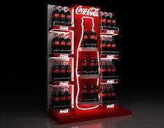Pos Display, Display Design, Booth Design, Pos Design, Retail Signage, Retail Store Design, Advertising Design, Coke, Coca Cola