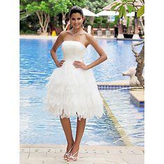 HALYNA - Kleid für die Braut aus Satin – EUR € 149.99